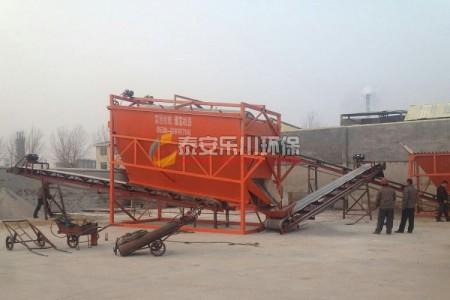 石灰石干法制砂生产线