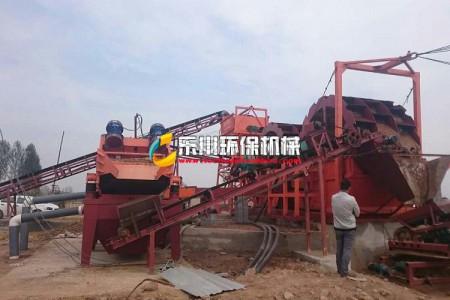 我公司在福建漳州细沙回收项目