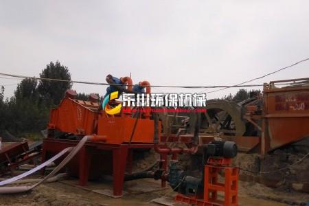 河北肥城细沙回收项目
