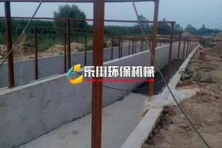 乐川环保山东项目污水池展示